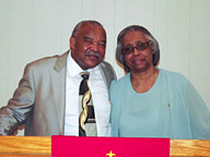 Suffragan Bishop Jimmie Smith hosts GWM in fellowship, December 15, 2013