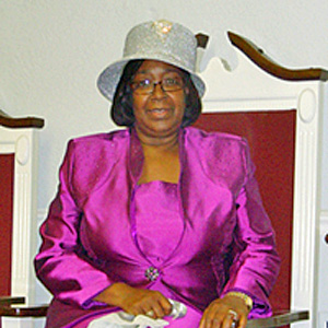 Pastor Viola Cullars at GWM on September 7, 2014