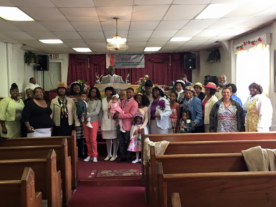 GWM visits Karl Moses and Little Refuge Apostolic Church, July 5, 2015